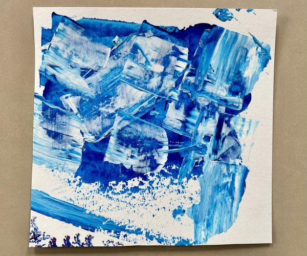 Acrylique abstraite