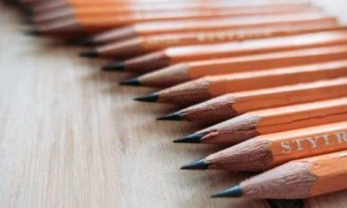 Choisir le bon crayon pour dessiner